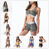 Designer Swimsuit Cartoon Shark Printed Swimwear Push Up Bra...