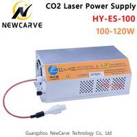 توريد HY-ES100 طاقة الليزر 100W 120W لCO2 النقش بالليزر وآلة القطع NEWCARVE
