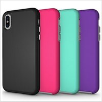 Hybrid Hard Armor Cases Heavy Shockproof 2 iN 1 PC + tpu Cov...