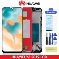 Original Y6 Prime 2019 LCD Display for Huawei With Touch Scr...