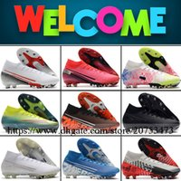 Mercurial Superfly VII High Ankle Mens AG ACC Soccer Shoes F...