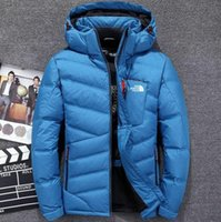 Hot 2019 Spedizione gratuita The Men Winter piumini outdoor Keep warm fashion North casual freddo caldo caldo piumino Face men360