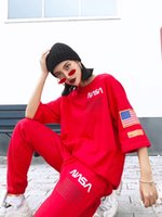 18ss New York fashion high quality Heron Preston NASA flag e...
