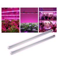 Planta crece la luz T8 LED integrado UV 365-375nm 365nm 3 pies de 14W AC100-305V del tubo luces 72leds PF0.95 FCC bombilla de la lámpara