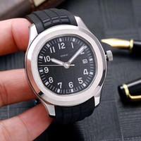 2020 neue Armbanduhren Automatikwerk aus rostfreiem Stahl original Verschluss Super-Leucht Männer Uhren Band bequeme Gummi