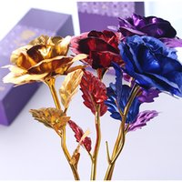 2018 Valentine' s Day Creative Gift 24K Foil Plated Rose...