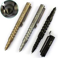 autodefensa Outdoor Security Protection Tactical Pen autodifesa personale sopravvivenza CED strumento finestra rotta in acciaio di tungsteno