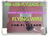 재고 무료 배송 1 개 새로운 보드 어댑터와 비행 리드 HW-USB-FLYLEADS-G 다운 컬러 플라이 송금