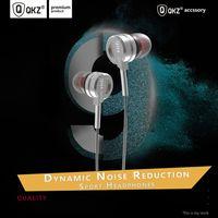 Tel kulaklıklar Yeni DM9 bas metal kulaklık kulak mic ile HIFI kulaklıklar moda tel kontrollü kulaklık desteği 2 ADET teslimat
