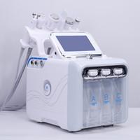 공장 가격 6in1 H2-O2 히드라 박피술 수계 박리 RF 생물학적 리프팅 스파 얼굴 유압 미세 박피술 기계 감기 햄