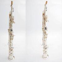 Alta qualità Giappone YANAGISAWA S991 B flat Sassofono Soprano Sax Strumenti Musicali ottone argentato con il caso professionale