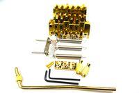 L'oro Vintage Floyd Rosa Lic della chitarra elettrica del ponticello del Tremolo Doppio sistema di bloccaggio dei commerci all'ingrosso liberi di trasporto di sistema