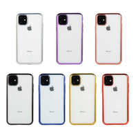 per iPhone 11 Custodia per telefono in TPU placcato ultra sottile per iPhone XS MAX XR X 8 7 Plus 11 Pro Pro Max