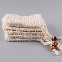 2style Neatening Mesh Suap Bag Saver Pouches Holder For Show Bath Foaming Natural Bag Sisal Show BagT2I5615