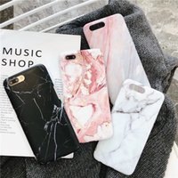 Luxus marmor telefon case für iphone 7 case für iphone x 7 6 6 s 8 plus 6 s case abdeckung xr xs mxa coque silizium fundas capa carcasa
