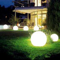 LED 태양 전구 램프 에너지 전원 방수 야외 정원 라이트 스트리트 태양 전지 패널 볼 조명 잔디 마당 풍경 장식