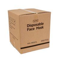 2000pcs / Box OMC 3 Laub Einweg Gesichtsmaske Schutzmasken Auf Lager Auf USA Lager Großhandel Faceshield Ohne Facemasks