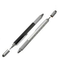 Neue Ankunfts-Werkzeug Kugelschreiber Schraubendreher Lineal Wasserwaage mit einem Top und Scale Multifunktions-Metall-Kunststoff-Feder