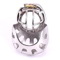 2020 Novelty Super Small Male Cock Cage Stainless Steel Arc ...