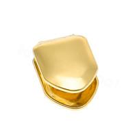 L'oro bretelle denti singoli denti grillz vampiro cosplay bretelle gioielli Hip hop donne uomini accessori moda favore del partito FFA4095-4