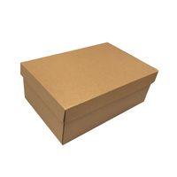 10PCS Zapatos de encargo de cartón de embalaje de correo Mover la caja de papel corrugado cajas de envío Las cajas de cartón caja de embalaje para los zapatos