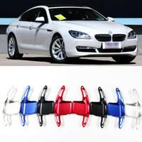 Para BMW série 6 alumínio Volante DSG Turno 2pcs Paddle Shifter Extensão