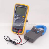 가자미 17B + PLUS 디지털 멀티 미터 (백라이트) + Holdpeak HP-605A 클램프 어댑터 600A AC / DC 전류