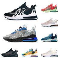 Reaccionar ENG Cactus Senderos Hombres Mujeres zapatos para correr Bauhaus Triple Negro Blanco Azul real para mujer para hombre zapatillas deportivas Tamaño 5,5-11