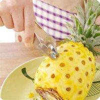Yaratıcı Kolay Meyve Peeler Ananas tart Dilimleme Kesici Paslanmaz Çelik Ananas Dilimleme Klipler Meyve Araçları Mutfak alet