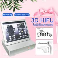 最も人気のある10000ショット11ラインHIFU 3Dフェイスリフト機/ファセリフト2D HIFU高輝度集中超音波美容装置