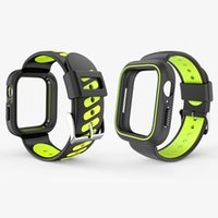 For Apple iWatch Case Cover + Wristband Band Strap Soft Sili...