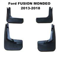 4pcs / set voiture Bavettes garde-boue BOUE Garde-boue Fender pour Ford FUSION MONDEO 2013-2018 Car Styling Accessoires