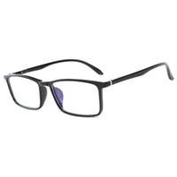 새로운 컴퓨터 휴대 전화 독서 안경 고글 투명 유리 렌즈 남녀 안티 블루 안경 프레임 안경 최고 품질의 컴퓨터 고글