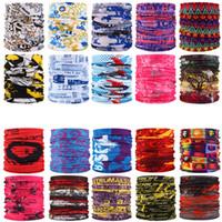 233 Stil bedruckte Stirnband Bandana Schal Multifunktionale nahtlose Gesichtsmaske Rohr Ringschal Männer Frauen TO255