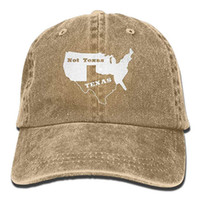 49a49063699 2019 New Cheap Baseball Caps Mens Cotton Washed Twill Baseball Cap Texas  Not Texas Secede Austin Dallas Oil Longhorn Hat