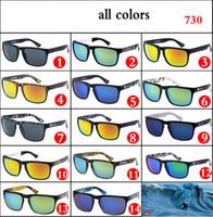 SCHNELLE Mode SILBER Sport Sonnenbrille 730 Männer Aviation Driving Shades Männliche Sonnenbrille Für Männer Retro Günstige Strand Brille 14 Farben Spiegel