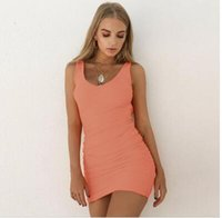 2019 new hot Latest sale explosions backless sleeveless plea...