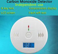 Warning Alarm Detector LCD CO sensore lavorano da soli Built-in 85dB sirena suono indipendente di carbonio avvelenamento da monossido di allarme di avvertimento