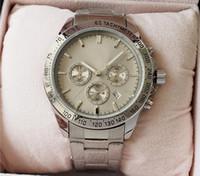 Bestseller Stahlgürtel Uhr Durchmesser 44mm voller Zeiger Arbeit Quarzwerk Uhr Luxusuhr Mode exquisite Geschenk klassische Herrenuhr