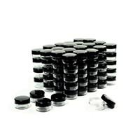 Kapakları Plastik Makyaj Numune Kapları BPA Pot Kavanozlar 5 Gram Kozmetik Kapları Numune Kavanozlar