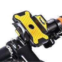 Suporte iPhone para o ciclismo MTB BMX moto Road Bike Guidão de bicicleta Phone Holder Phone Case 6s 6Plus 7 7S Além disso Samsung S7.