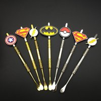 Hot Sell Bat Spider- Man Superman wax dabber tools wax atomiz...