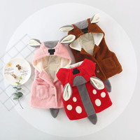 Cute Versatile Faux Fur Long Cartoon Polka Dot Animal Thick ...