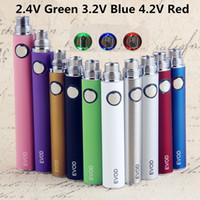 EVOD Vorheiz VV Vaporizer Batterie 1100 900 650mAh Elektronische Zigarette 510 Ego Thread Vape Pen USB Ladegerät Fit E-Cig Ego-T MT3 CE4 CE5