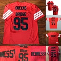 37729be8cf8 New Arrival. Mens STEENBERGE Prodigy 95 Hennessy Queens Bridge Football  Jersey Cheap 100% Stitched Red ...