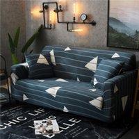 Sofa Cover Set geometrica Couch fascia elastica Divano per soggiorno animali d'angolo a forma di L Chaise Longue