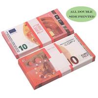 Оптом игрушка кино деньги евро 5/10 / 20/50 бумаги копирования банкноты 100 шт. / Пакет