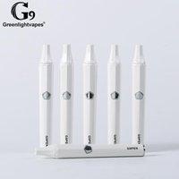 100% оригинал Greenlightvapes G9 Pen стартовый набор 600 мАч Аккумулятор Встроенный 30 Вт - 40 Вт Мод TC Керамическая катушка Сопротивление 0.3 Ом Испарения пара ECig