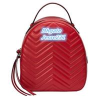 Alta Qualidade de Moda de Nova Marmont Pu Leather Bag Mulheres Crianças Escola Bags Backpack Lady Mochila Travel Bag