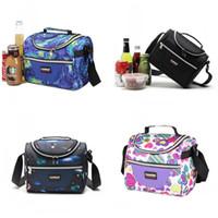 7L Picknick Bento Handtaschen Oxford Tuch Lebensmittel PEVA Druck Mini Isolierte Kühltasche Multifunktion Kinder Lebensmittel Organizer Meistverkauften 19